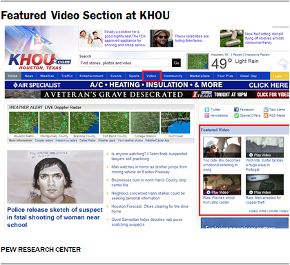 Featured Video Section at KHOU