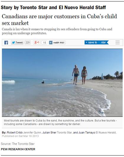 Story by Toronto Star and El Nuevo Herald Staff