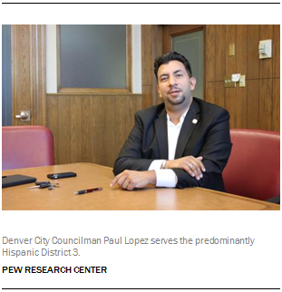 Denver City Councilman Paul Lopez serves the predominantly Hispanic District 3.