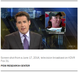 Screen shot from a June 17, 2014, television broadcast on KDVR Fox 31.
