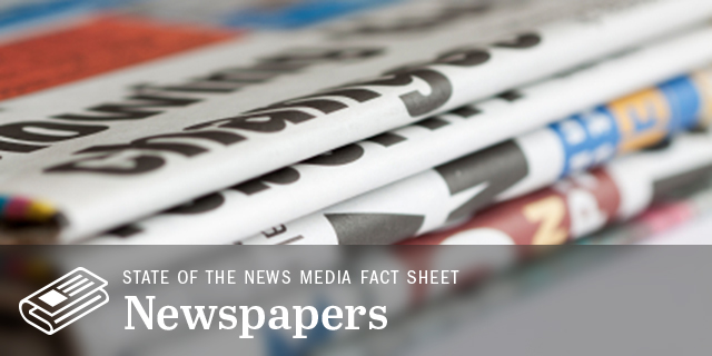 Trends and Facts on Newspapers | State of the News Media